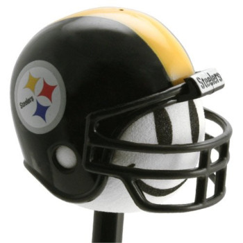 1 X Pittsburgh Steelers Football Helmet Antenna Topper