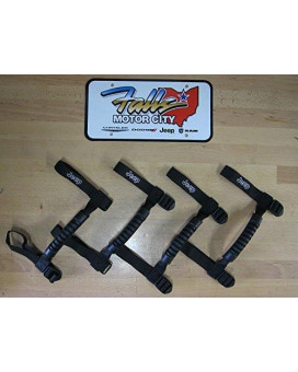 New 2 Sets Jeep Wrangler Mopar Roll Bar Grab Handles OEM