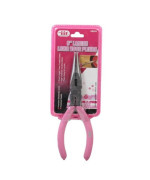 IIT 88000 Ladies Pink 6-Inch Long Nose Pliers