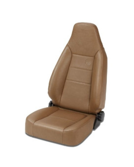 Bestop 39434-37 TrailMax II Sport Spice Front High Back All-Vinyl Single Jeep Seat for 76-06 Jeep CJ and Wrangler