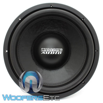 "SA-12 D4 REV.3 - Sundown Audio 12"" 750W Dual 4-Ohm SA Series Subwoofer"