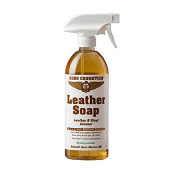 Aircraft Quality 16oz Leather Cleaner Leather Soap for your Car and RV