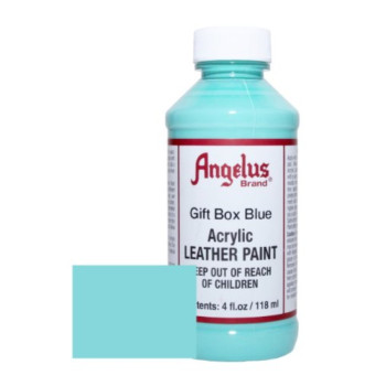 Angelus Acrylic Leather Paint-4oz.-Gift Box Blue