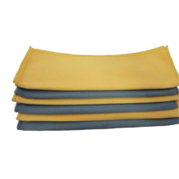 Atlas Microfiber Detailing Glass Polish Heavy Cloth Towel YELLOW - 12-Pack