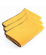 3 Pack Cobra Guzzler HD Waffle Weave Drying Towels, 16 x 24 inches