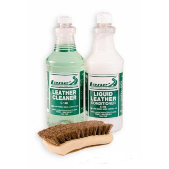 Leather Cleaner, Conditioner and Brush Kit