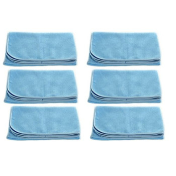 Real Clean Professional Grade Premium Ultra-Microfiber Extra Thirsty Big Blue Automotive Drying Towel 25