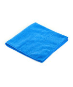 Blue Real Clean All Purpose Plush Microfiber Bargain Towel
