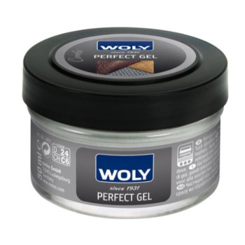 Woly Perfect Gel. Gentle Cleaning and Conditioning GEL for All Designer Leather Shoe, Handbag and Clothes. Prevents Leather Dryness and Cracking.
