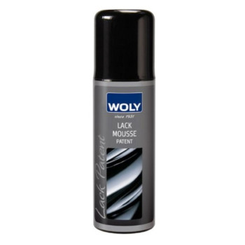 Woly Strong Patent Leather Mousse Cleaner. Cleans Dirt & Oil From Designer Leather Shoes, Handbags,and Clothes.