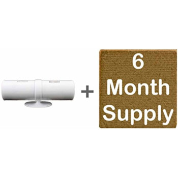 Natural Air Freshener, 6 Month Supply With Free Dual Fan Dispenser