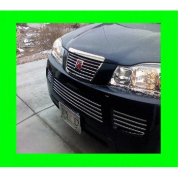 2006-2007 SATURN VUE UPPER/LOWER CHROME GRILLE GRILL KIT 06 07