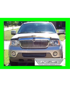 LINCOLN NAVIGATOR 2003 2004 LOWER CHROME GRILLE GRILL KIT 03 04 LIMITED LUXURY ULTIMATE ELITE