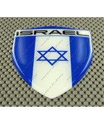Israel Flag 3d Decal Sticker Lg