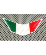 Italia Italy Flag Ducati Aprilia Decal Sticker V Emblem