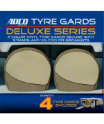 Adco Deluxe RV Wheel Covers Trailer Wheel Covers Motorhome Wheel Storage Covers for Wheels 40