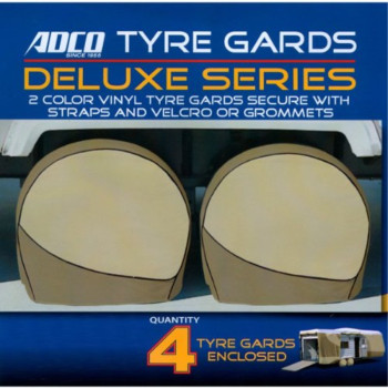 Adco Deluxe RV Wheel Covers Trailer Wheel Covers Motorhome Wheel Storage Covers for Wheels 36