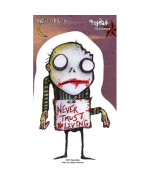 Agorables - Never Trust The Living Zombie - Sticker / Decal