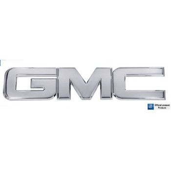 2000-2014 GMC Yukon Polished Aluminum Rear GMC Emblem By AMI