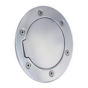 All Sales 6040P Polished Billet Aluminum Fuel Door
