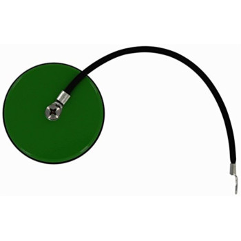 All Sales 6540GN Diesel Green Billet Dust Cap