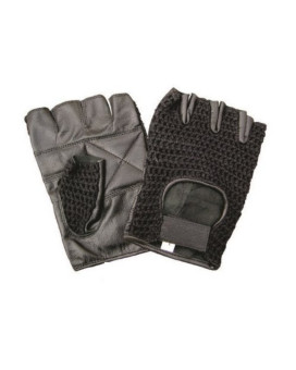 Unisex Adult AL3003 Fingerless glove Small Black