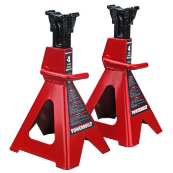 Powerbuilt 647529 Heavy Duty 4-Ton Jack Stand - 2 Piece
