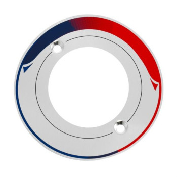 American Standard M909606-0020A Dial Plate Decal, Polished Chrome