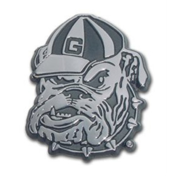 Georgia Bulldogs Metal Auto Emblem