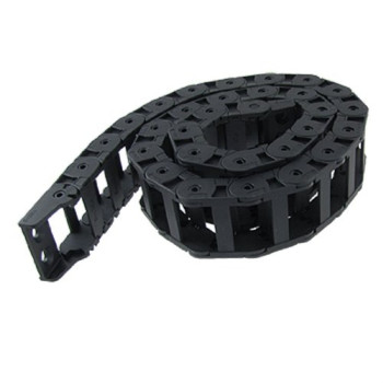 18 x 37mm Plastic Cable Drag Chain Wire Carrier Black 42 1/2