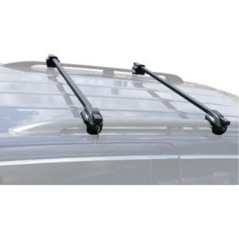 Steel Cross Bars with Lock System for 2001 - 2005 Audi Allroad Quattro Wagon