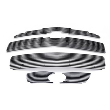 Fits 2006-2010 Chevy HHR SS Billet Grille Grill Insert Combo With Fog Light # C61215A