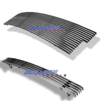 97-98 Ford F-150 2WD Billet Grille Grill Upper+Lower Combo Insert # F87952A