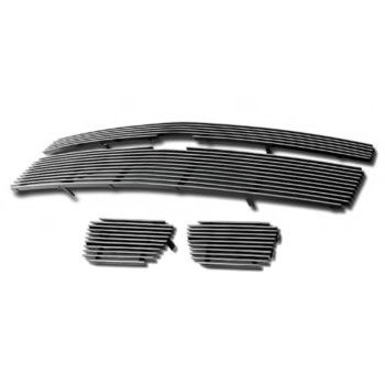 Fits 2007-2014 Chevy Tahoe/Suburban/Avalanche Billet Grille Grill Insert Combo # C67919A
