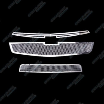 Fits 2011-2014 Chevy Cruze Stainless Steel Mesh Grille Grill Insert Combo # C71083T