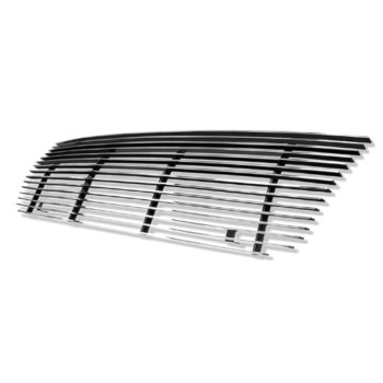 APS F85020A Polished Aluminum Billet Grille Replacement for select Ford E-150 Econoline Models