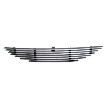 APS F86001A Polished Aluminum Billet Grille Replacement for select Ford Mustang Models