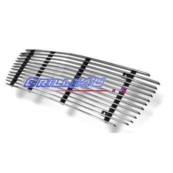 APS G65718A Polished Aluminum Billet Grille Bolt Over for select GMC Jimmy Models