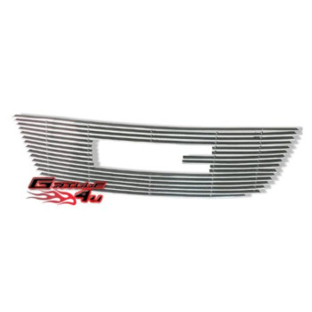 APS G66515A Polished Aluminum Billet Grille Bolt Over for select GMC Acadia Models