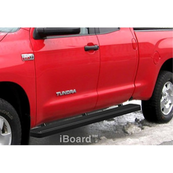 APS IB-T4097B Matte Black iBoard Bolt Over for select Toyota Tundra Models