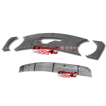 05-09 Ford Mustang GT V8 Billet Grille Grill Combo Insert # F67731A