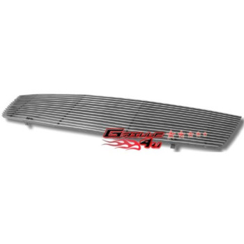 APS N86497A Polished Aluminum Billet Grille Replacement for select Nissan Sentra Models