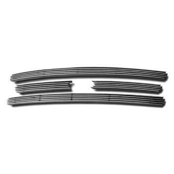 APS Polished Chrome Billet Grille Grill Insert #F65321A