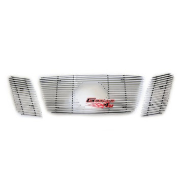 APS Polished Chrome Billet Grille Grill Insert #N66509A