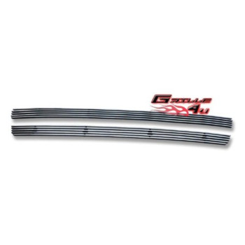 APS Polished Chrome Bumper Billet Grille Grill Insert #F65760A