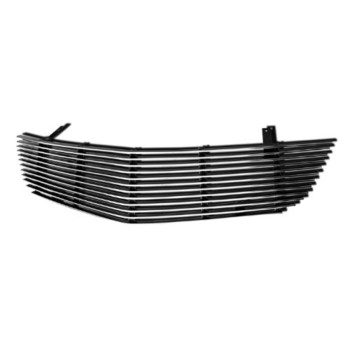 APS S87614A Polished Aluminum Billet Grille Replacement for select Saturn Aura Models