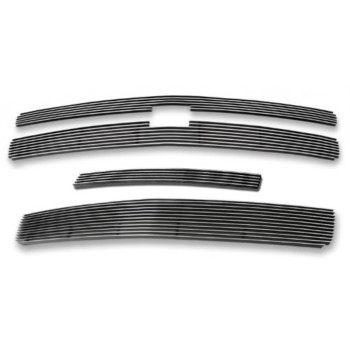 Fits 2007-2013 Chevy Silverado 1500 Billet Grille Grill Insert Combo # C61133A