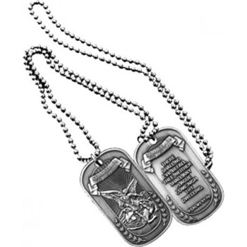 St. Michael Dog Tag with keychain