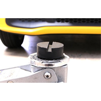 Universal Slotted Rubber Jack Pad Frame Rail Protector (2)