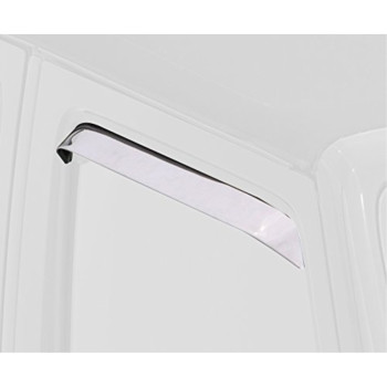 Auto Ventshade 12501 Ventshade Stainless Steel Window Deflector, 2 Piece